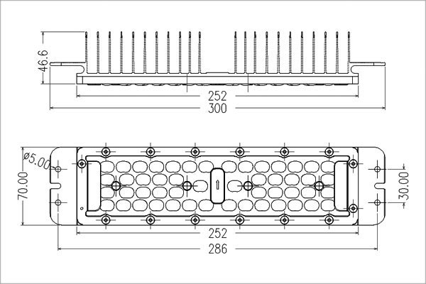 60W led module